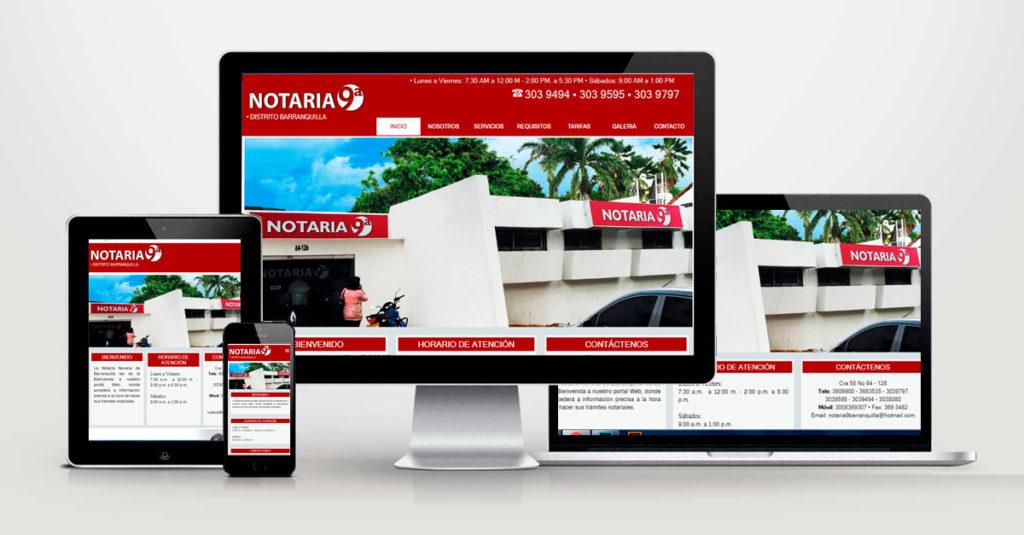 administracion paginas web en barranquilla