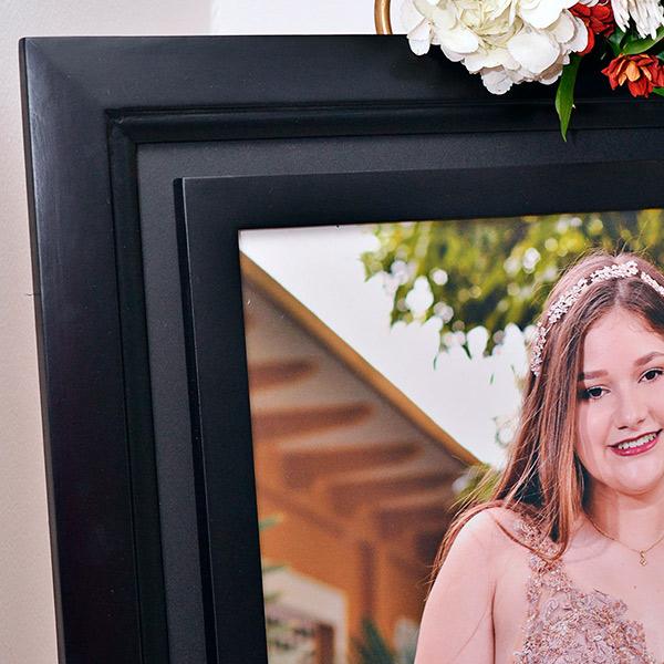 Detalle Cuadro con foto de 50 x 70 cm